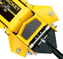 Autojack Professional Low Profile 3 Ton Garage Trolley Jack Hydraulic Rapid Lift