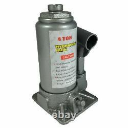 Bouteille Hydraulique De 4 Tonnes De Poids Lourd Jack Automot Car Repair Shop Lift Tool Bj04t