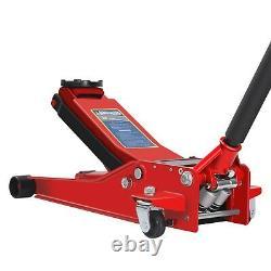 Chariot Hydraulique De 3 Tonnes Jack Tonne Soulevant Voiture Van Suv Garage Lourd