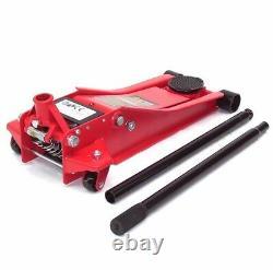Chariot Hydraulique De Plancher 06099 Profil Bas 80-500mm Jack 2.5 Ton Levage De Levage