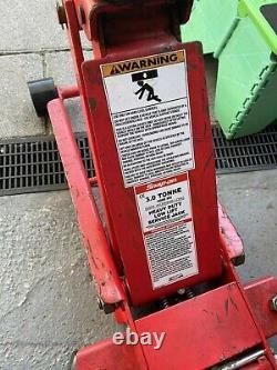 Déclenchez Sur Le Chariot De 3 Tonnes Jack Low Entry Lift Quick Lift