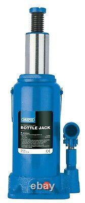 Draper 13117 10 Tonnes Rapide Ascenseur Bouteille Hydraulique Jack Garage Atelier Mécanique