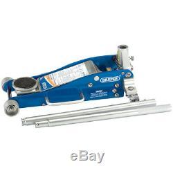 Draper 2,5 Tonnes D'aluminium Chariot Jack 31479 Grande Qualité Ascenseur Léger Rapide