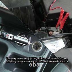Électrique Plancher De Voiture Jack 5 Ton Tout-en-un Automatique 12v Scissoir Jeu De Jack