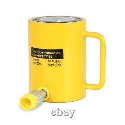 Fcy-50 50 Tonnes 4 Cylindre Hydraulique À Action Unique Levant Jack Cylindre