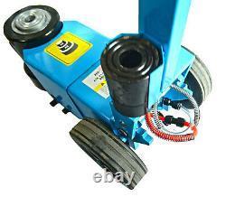Heavy Duty Air Floor Low Profile Jack 20/40 Ton Truck Lorry Hydraulic Lift Nouveau