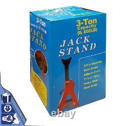Home 3-ton Axle Jack Stand Heavy Duty Floor Ratchet Car Auto Lifting Tool Repair