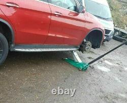 Huaqi Professional 3 Ton Hydraulic Trolley Jack Compact Car Équipement De Levage De Garage
