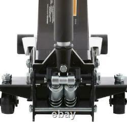 Husky 3-ton Plancher Jack Profil Bas Avec Ascenseur Rapide Roues Double Pompe Acier Robuste