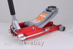 Jack De Course De Trolley À Profil Bas De Hauteur De 2,5 Tonnes D'aluminium De 2,5 Tonnes