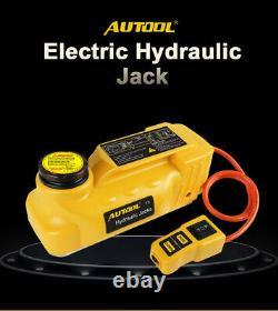 Jacks De Plancher Électrique Hydraulique Portable Voiture De Levage De Voiture Jack Stand 5 Tonnes 12v
