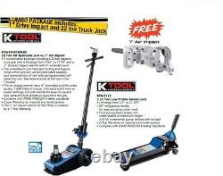 K-tool 22 Ton Pneumatic Air Hydraulic Professional Essieu Jack 9 21 Ascenseur