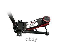 Lifting Rapide Lourd Double Pompe 4 Tonnes Ultra Faible Profil Chariot De Plancher Jack