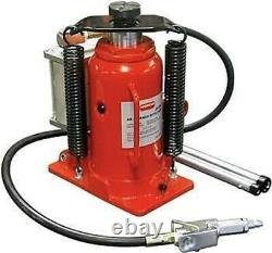 Lot Of Two 12 Ton Hydraulic / Air Bottle Floor Jack Automotive Shop Lift Tool