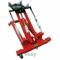 Mise À Jour 2tons Hydraulic Low Lift Transmission Jack Pour Réparation Automatique Movable