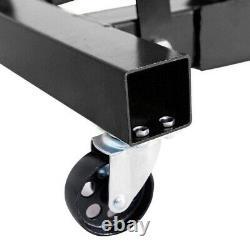 Moteur Hydraulique De 2 Tonnes Crane Stand Hoist Lift Jack Lifting Machine Black