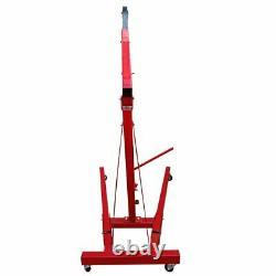 Moteur Hydraulique De Pliage De 2 Tonnes Crane Stand Hoist Ascenseur Jack Réglable Royaume-uni