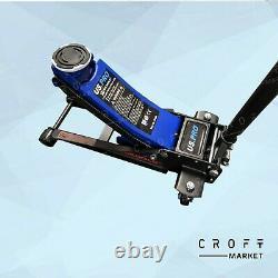 Nous Pro 3 Tonnes Faible Profil Chariot D'ascenseur Rapide Jack Twin Piston 3 Tonne 10108