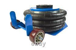 Nouveau 3 Ton Pneumatic Air Bag Jack Quick Lift Garage Mechanic Car Van Professional
