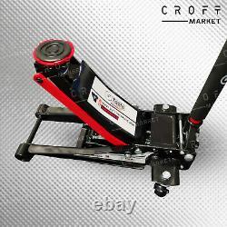 Nouveau Chariot Hydraulique De 4 Tonnes De Poids Lourds Ultra-faible Profil Jack Lifting Rapide