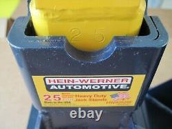 Paire De Soutien De Véhicule Hein-werner Hw93526f 25 Tonnes De Capacité De Levage Jack