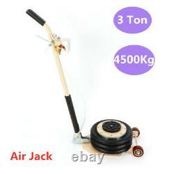 Pneumatique Jack Triple Sac Air Jack Lift 3 Tonnes Véhicule Air Actionné 145psi/10bar