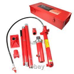 Porta Power Hydraulic Jack Air Pump Lift Ram Body Frame Outil De Réparation 20 Tonnes