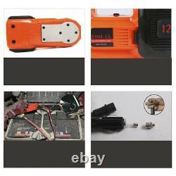 Portable 12v 5ton Voiture Électrique Hydraulique Plancher Jack Lift Led Air Gonlator Led