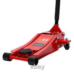 Portable 2.5ton Low Profile Trolley Jack Garage Workshop Lifting Equipment Jacks