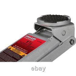 Pro Lift Garage Floor Jack Hybride Léger Dual-piston Aluminium Steel 1.5 Ton