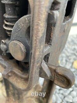 Railroad Jack, Templeton Kenly Simplex 85a, 5 Tonnes, 10 Ascenseur, Travail Et Frais