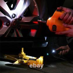 Rogtz Electric Car Floor Jack Set 3 Ton All-in-one Automatique 12v Scissor Lift Ja
