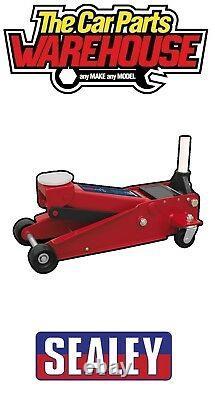 Sealey Trolley Jack 3tonne Super Rocket Lift Lift 3 Tonnes 3015cxd