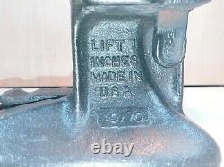 Simplex 84a Vintage 5 Tonnes Railroad Jack Works Original 7 Inch Lift
