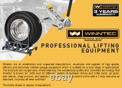 Siroter 09823 09702 Winntec 3 Ton Turbo Lift Trolley Jack Pu Wheels 3 Yr Garantie