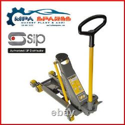 Sirotez 09840 Winntec 2 Ton Low Profile Trolley Jack With Turbo Lift System