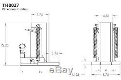 Temco Machine Hydraulique Toe Jack Lift 15/30 Tonnes Piste Garantie De 5 Ans