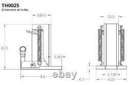 Temco Machine Hydraulique Toe Jack Lift 2,5 / 5 Tonnes Piste Garantie De 5 Ans