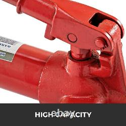 Vevor 12 Tonnes Porta Power Hydraulic Jack Pump Lift Ram Kits De Réparation De Cadre De Corps