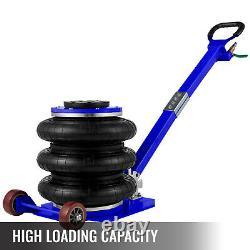 Vevor Triple Air Bag Jack Pneumatic Jack 11000 Lbs Lifting Rapide 5 Tonnes De Poids Lourd