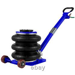 Vevor Triple Air Bag Jack Pneumatic Jack 11000 Lbs Quick Lift 5 Ton Heavy Duty