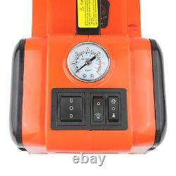Voiture 12v DC 5 Ton Electric Hydraulic Floor Lift Scissor Jack Repair Tire Change