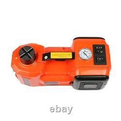 Voiture Électrique Jack Hydraulique 12v Étage 5 Tonnes Scissor Lift Jack Pompe Kit Gonfleur