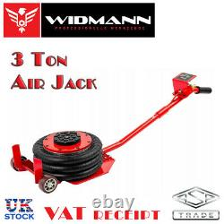 Widmann 3 Ton Car Pneumatic Air Quick Lifting Garage Mechanic Jack 3 Sac De Levage